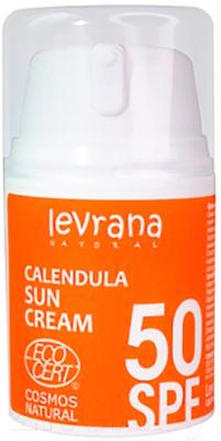 Крем солнцезащитный Levrana Календула SPF50 (50мл)