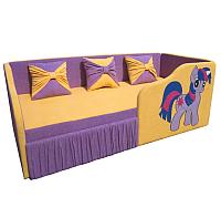 Кровать-тахта детская М-Стиль Рио (правая) -