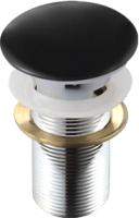Выпуск (донный клапан) Melana MLN-TB18-1 (черный) -