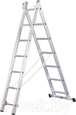 Лестница секционная Алюмет 5208