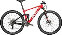 Велосипед BMC Fourstroke 01 XT Di2 2018 / FS01TEAM (M, красный/белый/черный) -