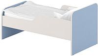 Односпальная кровать Славянская столица ДУ-КО16-11 (белый/синий) -