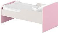 Односпальная кровать Славянская столица ДУ-КО16-11 (белый/розовый) -