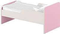 Односпальная кровать Славянская столица ДУ-КО14-11 (белый/розовый) -