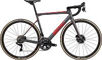 Велосипед BMC Teammachine SLR01 Disc One Dura Ace Di2 2019 / SLR01DiscOne (58, серый/красный/карбон) -