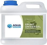 Грунтовка AquaColor Grunt Universal Concentrate 1:3 (5л) -