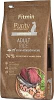 Корм для собак Fitmin Purity Adult Rice, Fish & Venison (12кг) -