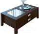 Журнальный столик Олмеко Сатурн М08 (венге) -