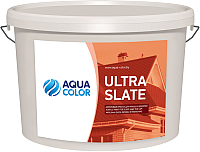 Краска AquaColor Ultra Slate (6.5кг, шоколадный) -