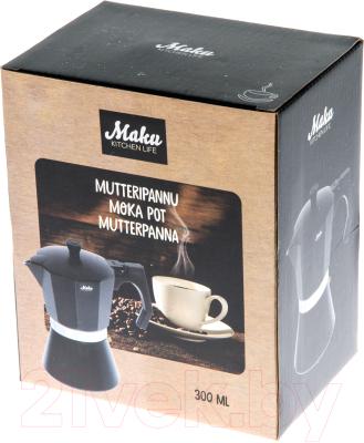 Гейзерная кофеварка Maku Kitchen Life 270463