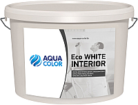 Краска AquaColor Eco White Interior (14кг) -