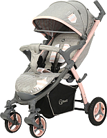 Детская прогулочная коляска Rant Cosmic / RA008 (Lines Peach) -