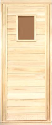 Деревянная дверь для бани Банные Штучки 34021