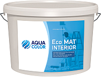 Краска AquaColor Eco Mat Interior (3.5кг) -