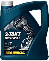 Моторное масло Mannol 2-Takt Universal TC / MN7205-4 (4л) -