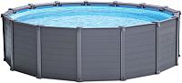 Каркасный бассейн Intex Graphite Gray Panel / 26384 (478x124) -
