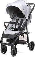 Детская прогулочная коляска 4Baby Moody (Light Grey) -