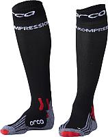 Носки для триатлона Orca Comppession Comp / AVA4 (XS, черный) -