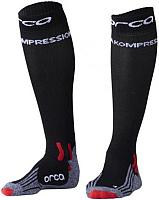 Носки для триатлона Orca Comppession Comp Race / AVAU (XS, черный) -