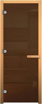 Стеклянная дверь для бани/сауны Везувий 1800x800