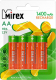 Комплект аккумуляторов Mirex HR6 1400mAh / HR6-14-E4 (4шт) -