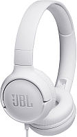 Наушники-гарнитура JBL Tune 500 / T500WHT (белый) -