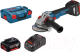 Профессиональная угловая шлифмашина Bosch GWS 18V-10 C Professional (0.601.9G3.10D) -
