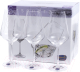 Набор бокалов Bohemia Crystal Sandra 40728/C5987/550 (6шт) -