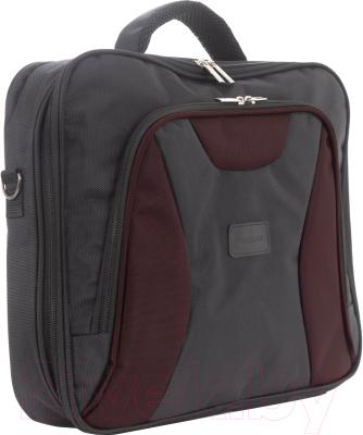 Сумка для ноутбука Versado 725/15 (черный/бордовый)