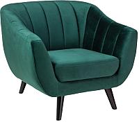 Кресло мягкое Signal Elite 1 Velvet (Bluvel78 зеленый) -