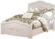 Полуторная кровать ФорестДекоГрупп Ника 120 (cветлый) -