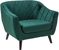 Кресло мягкое Signal Molly 1 Velvet (Bluvel78 зеленый) -