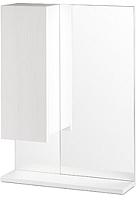 Шкаф с зеркалом для ванной СанитаМебель Ларч 11.520 (левый) -