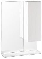 Шкаф с зеркалом для ванной СанитаМебель Ларч 11.520 (правый) -