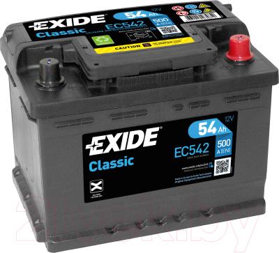 Автомобильный аккумулятор Exide EC542