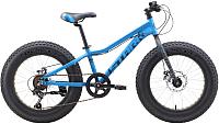 Детский велосипед STARK Rocket Fat 20.1 D 2019 (голубой/черный) -