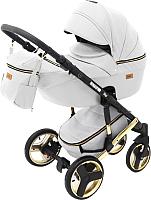 Детская универсальная коляска Ray Ultra Gold 2 в 1 (6/белая кожа) -