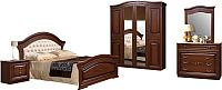 Комплект мебели для спальни ФорестДекоГрупп Любава-4 (дуб медовый) -