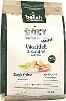 Корм для собак Bosch Petfood Soft Mini Quail&Potato (2.5кг) -