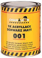 Эмаль автомобильная CHAMALEON 50010 (1л, черный матовый) -
