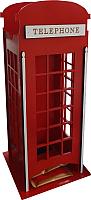 Чайный домик Grifeldecor Телефонная будка / BZ192-10C273 -