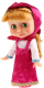 Кукла с аксессуарами Карапуз Маша с набором зимней одежды / 83033CX -