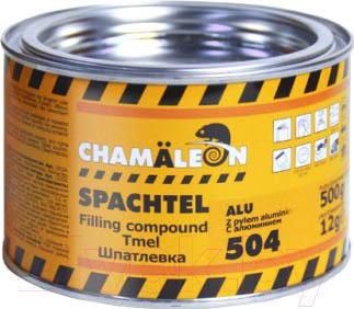 Шпатлевка автомобильная CHAMALEON С алюминием 15044 (512г)