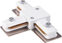 Коннектор для шинопровода Elektrostandard TRC-1-1-T-WH (белый) -