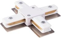 Коннектор для шинопровода Elektrostandard TRC-1-1-X-WH (белый) -