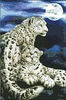 Набор для вышивания БЕЛОСНЕЖКА Снежные барсы / 2446-14 -