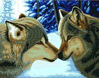 Набор для вышивания БЕЛОСНЕЖКА Два волка / 2862-14 -