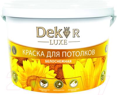 Краска Dekor ВД-АК 216 для потолка