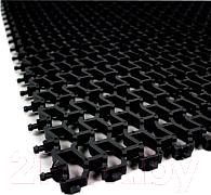 Коврик грязезащитный No Brand Пила 102x600 10мм (черный)