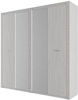 Шкаф SV-мебель Гамма 20 четырехстворчатый (ясень анкор светлый/сандал светлый) -